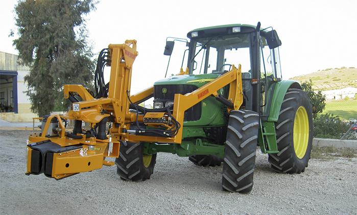 5_tractor con vibrador de tronco orbital